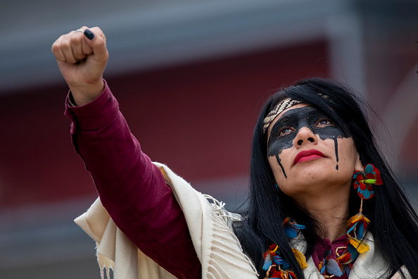 Indigenous Culture「Indigenous Brazilian Leaders Protest Fossil Fuels During COP25 In Madrid」:写真・画像(12)[壁紙.com]