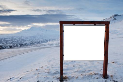 North Iceland「Empty billboard」:スマホ壁紙(13)