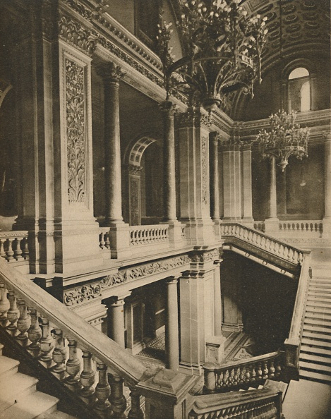 Model House「Marble Balustrades Of The Staircase In The Foreign Office」:写真・画像(19)[壁紙.com]