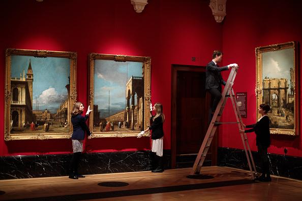 アート「Canaletto And The Art Of Venice Exhibitions Opens At Buckingham Palace」:写真・画像(6)[壁紙.com]