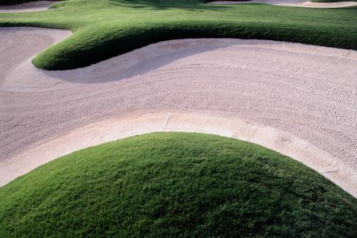 Sand Trap「Golf course and sand trap」:スマホ壁紙(15)