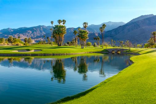 Water Hazard「Golf course in Palm Springs, California (P)」:スマホ壁紙(0)