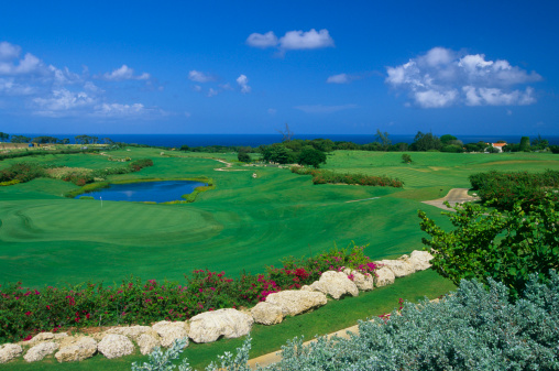 Water Hazard「Golf course by sea」:スマホ壁紙(19)