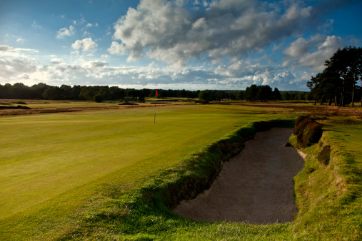 Sand Trap「Golf  course, UK」:スマホ壁紙(2)
