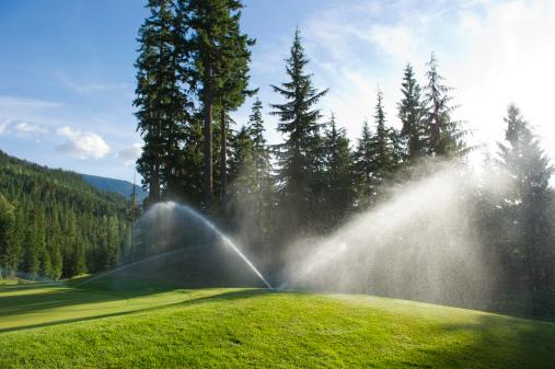 Sprinkler「Golf Course Sprinkler」:スマホ壁紙(1)