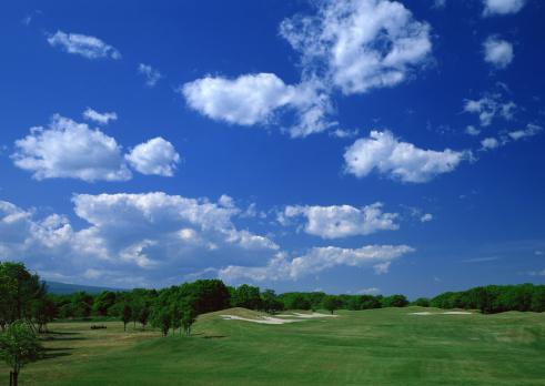 雲「Golf Course」:スマホ壁紙(14)