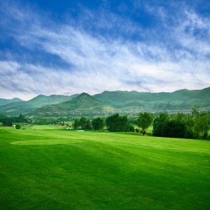 雲「ゴルフゴルフコース」:スマホ壁紙(10)