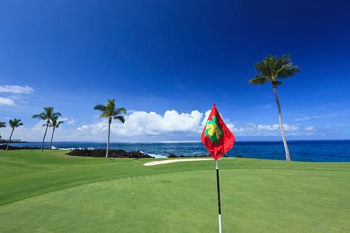 Sports Flag「Golf course, Kona Country Club」:スマホ壁紙(10)