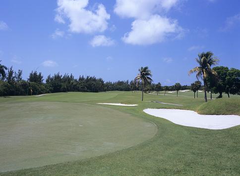 Sand Trap「Golf course, Florida, USA」:スマホ壁紙(1)