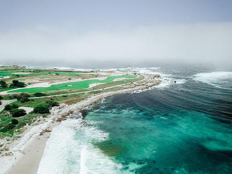 Big Sur「Golf Course On Ocean Coastline」:スマホ壁紙(9)
