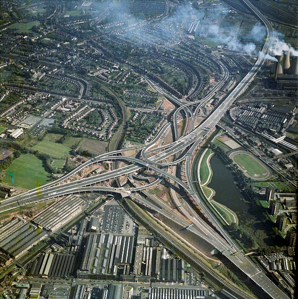 Birmingham - England「Gravelly Hills Interchange」:写真・画像(4)[壁紙.com]