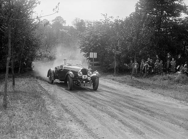 Bugatti Type 40, Bugatti Owners Club Hill Climb, Chalfont St Peter, Buckinghamshire, 1935:ニュース(壁紙.com)