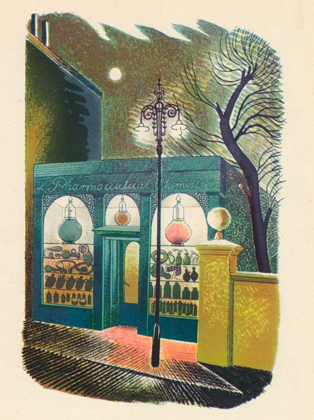 Literature「Chemist Shop at Night, 1938, (1946)」:写真・画像(9)[壁紙.com]