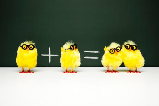 Easter「Math Lesson - Nerd  Chick Chicken Humor Fun Mathematics Easter」:スマホ壁紙(6)