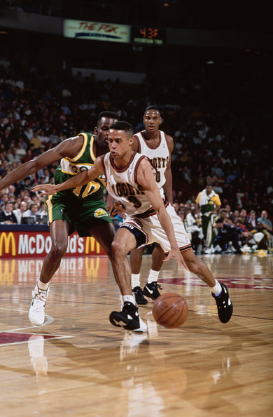 Chris Jackson「Seattle SuperSonics vs Denver Nuggets」:写真・画像(18)[壁紙.com]