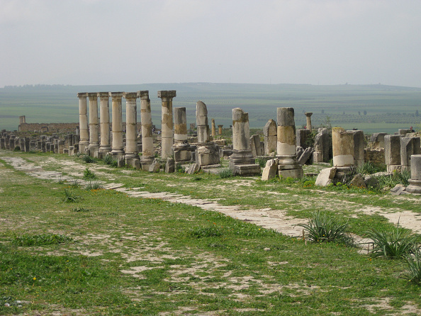 UNESCO「Ruins Of Volubilis,Morocco, An Imporatn Outpost Of The Roman Empire Founded In The 3Rd Century Bc. I Artist: Werner Forman.」:写真・画像(12)[壁紙.com]