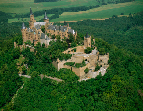 Gothic Style「Hohenzollern Castle , Bisingen , Baden-Wuerttemberg , Germany」:スマホ壁紙(14)