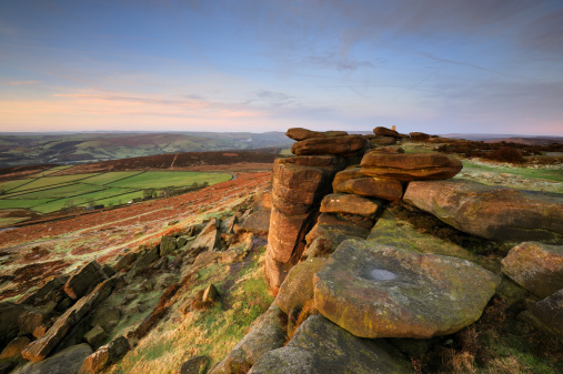 Peak District National Park「Stanage Edge Rocks, Peak District」:スマホ壁紙(11)