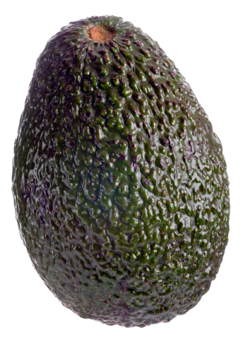 Avocado「Whole avocado on white background」:スマホ壁紙(18)