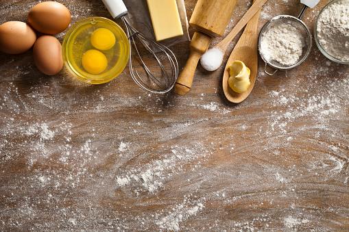 Cake「Dough preparation and baking frame」:スマホ壁紙(5)