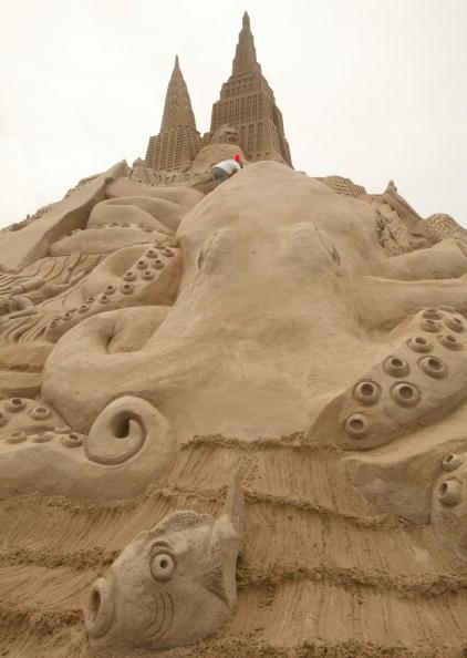 Octopus「Sand Sculptures Festival」:写真・画像(14)[壁紙.com]