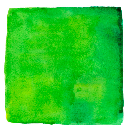 Square Shape「Rising Jungle Green Watercolour Square」:スマホ壁紙(18)