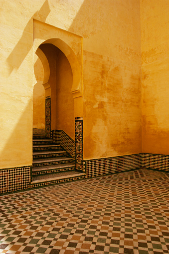 1990-1999「Interior Coutyard of Moulay Ismail Mausoleum」:スマホ壁紙(9)