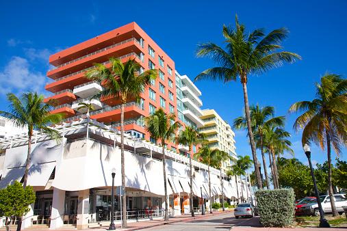Miami Beach「Colorful residential architecture, Miami Beach」:スマホ壁紙(4)