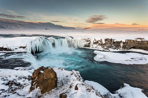North Iceland「Godafoss Falls - North Iceland」:スマホ壁紙(17)