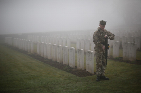 Place of Worship「Rehearsal Ahead Of The Reburial Ceremony Of British World War I Soldiers」:写真・画像(14)[壁紙.com]