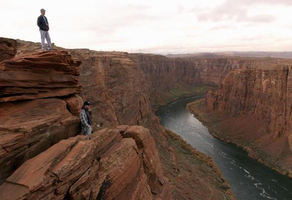 風景「Government Releases Water Into Grand Canyon In Experiment To Re-Claim River Habitats」:写真・画像(6)[壁紙.com]