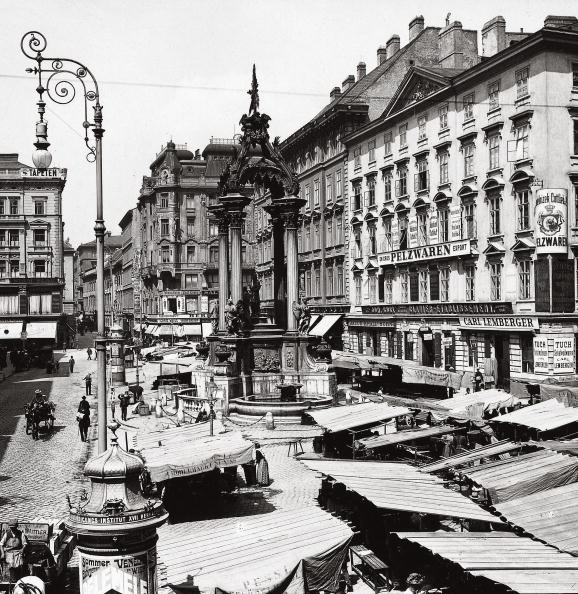 City Life「High Market with espousal fountain in Vienna」:写真・画像(18)[壁紙.com]