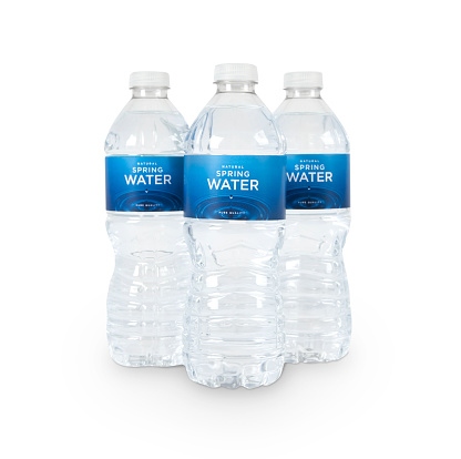 Drinking Water「Three Bottles of Water (fictitious) + Clipping Paths」:スマホ壁紙(8)