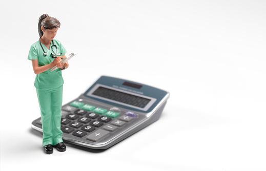 Medical Scrubs「Doctor/nurse/cost of medical care」:スマホ壁紙(7)