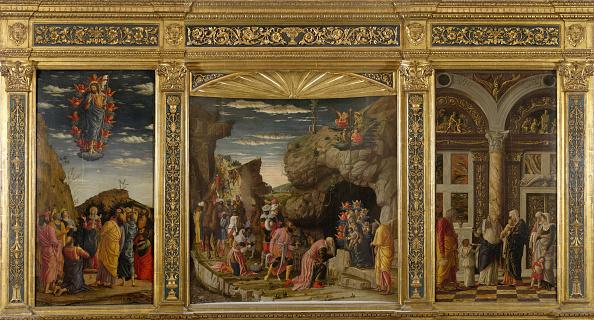Painted Image「Trittico Degli Uffizi (Uffizi Triptych)」:写真・画像(1)[壁紙.com]