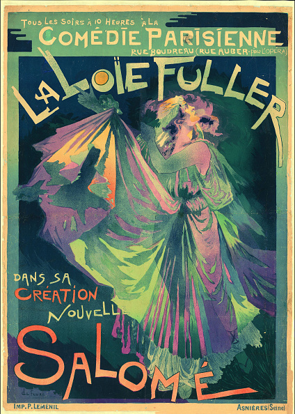 Salome - Daughter of Herodias「Loïe Fuller As Salomé」:写真・画像(5)[壁紙.com]