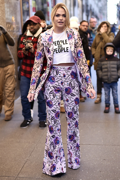 Steven Ferdman「Street Style - New York Fashion Week February 2019 - Day 3」:写真・画像(1)[壁紙.com]