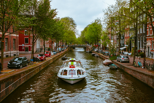 オランダ「アムステルダムを運河します。」:スマホ壁紙(11)