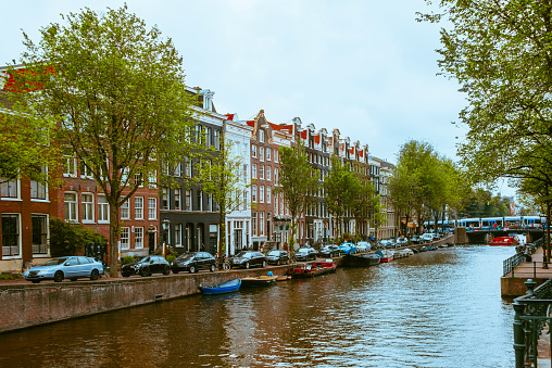 Canal House「Canal in central Amsterdam」:スマホ壁紙(14)