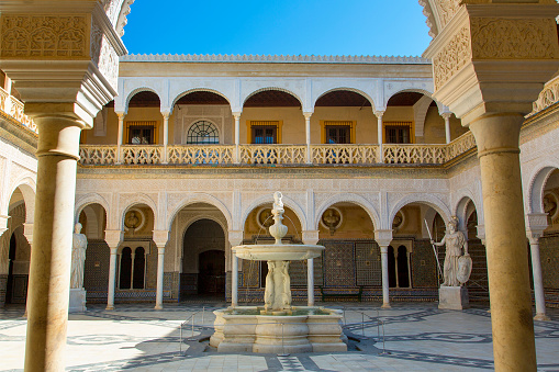 Renaissance「Sevilla, Patio in Casa de Pilatos」:スマホ壁紙(15)