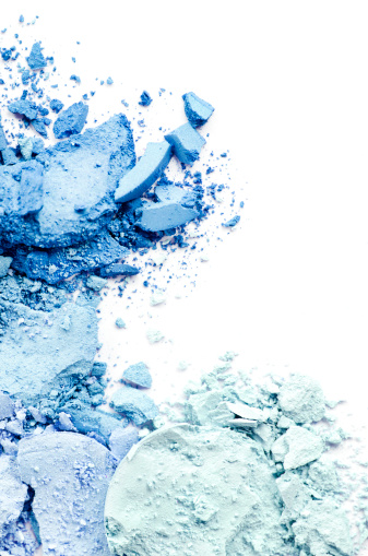 Turquoise Colored「Crushed Makeup」:スマホ壁紙(5)