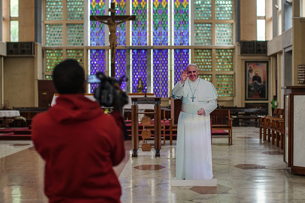 Nichole Sobecki「Final Preparations Are Made For The Arrival Of Pope Francis To Kenya」:写真・画像(0)[壁紙.com]