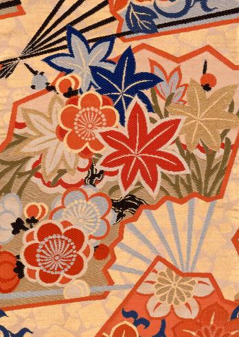 梅の花「Textile」:スマホ壁紙(15)