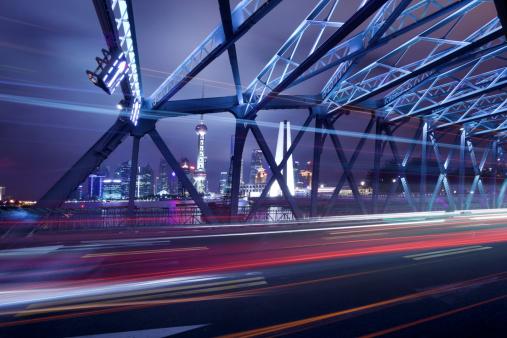Shanghai「Night cityscape of shanghai」:スマホ壁紙(9)