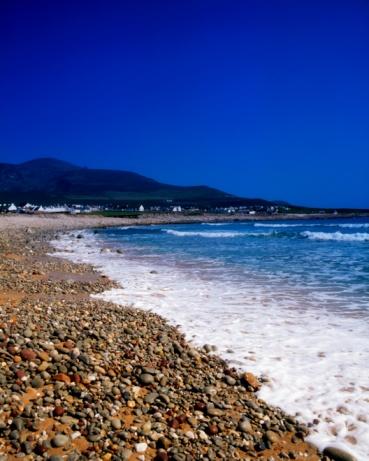 アキル島「Achill Island, beach at Dooagh, Croaghaun Mountain, Ireland」:スマホ壁紙(12)