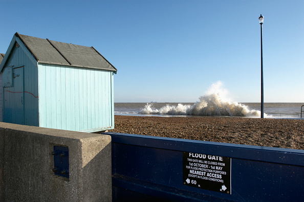 Felixstowe「Flood gate and storm surge sea, Felixstowe, Suffolk, UK」:写真・画像(13)[壁紙.com]