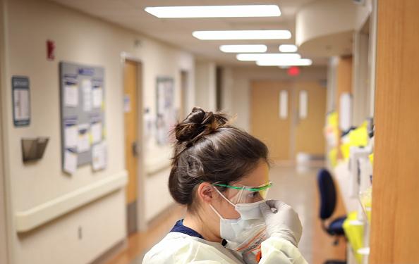 USA「Maryland's Medstar St. Mary's Prepares For Influx Of Coronavirus Patients」:写真・画像(0)[壁紙.com]