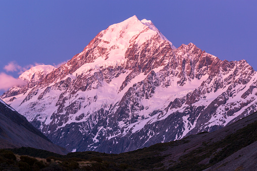 Mt Cook「View of Mount Cook from Hooker Valley Track, Canterbury, New Zealand」:スマホ壁紙(17)