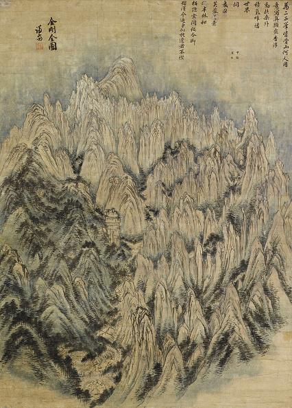 Painting - Activity「View Of Mountain Kumgangsan (The Diamond Mountains) 1734」:写真・画像(2)[壁紙.com]