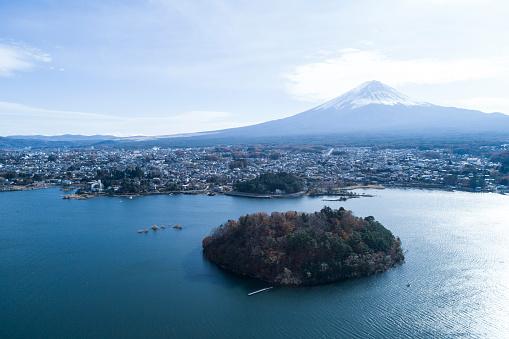 縁なし帽子「山富士の眺め。」:スマホ壁紙(6)